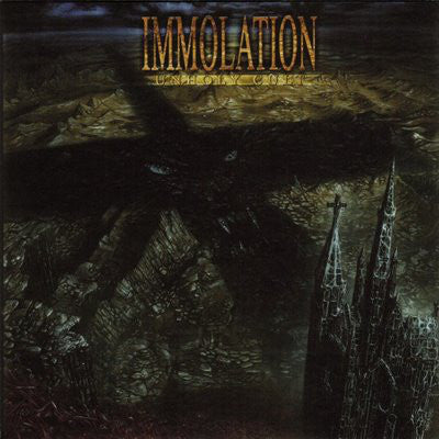 Immolation ‎– Unholy Cult CD