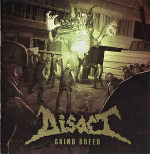 Disact ‎– Grind Breed CD