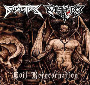 Dementors / Evil Force  – Evil Reincarnation Split CD