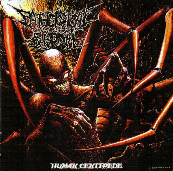 PATHOLOGICAL SADISM | Human Centipede EP CD