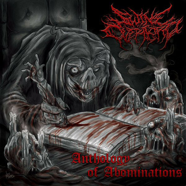 SWINE OVERLORD | Anthologies Of Abomination EP CD
