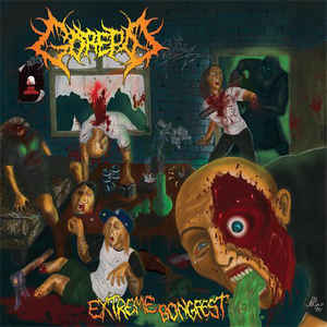 Gorepot ‎– Extreme Bongfest  CD