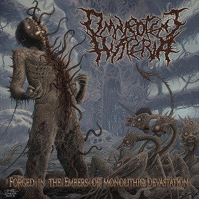 OMNIPOTENT HYSTERIA | Forged in the Embers of Monolithic Devastation EP CD
