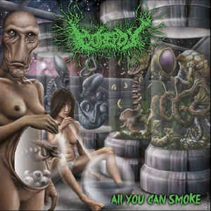 Gorepot ‎– All You Can Smoke  CD
