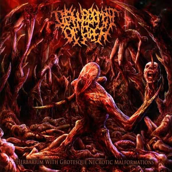 DISFIGUREMENT OF FLESH | Herbarium with Grotesque Necrotic Malformations CD