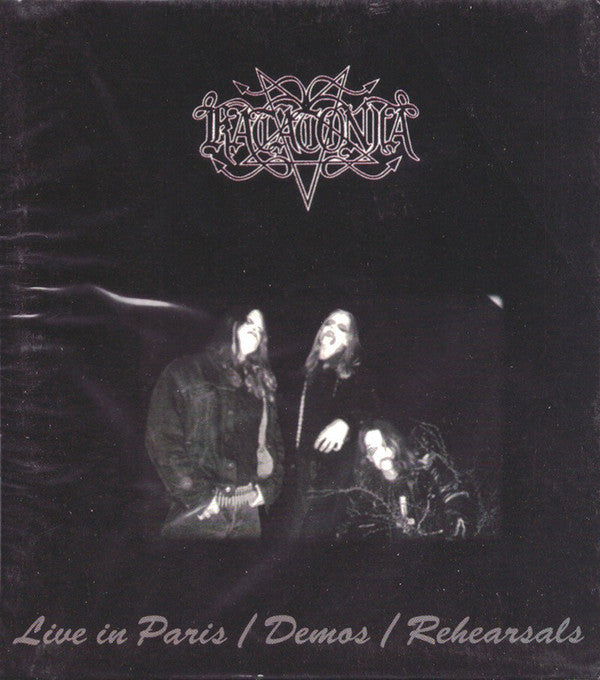Katatonia ‎– Live In Paris / Demos / Rehearsals CD