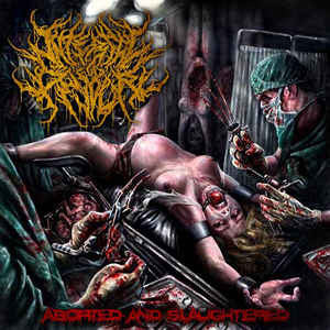 INTERNAL DEVOUR | Aborted And Slaughtered CD