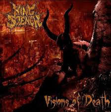 King Stench ‎– Visions Of Death  CD