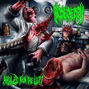 Bösedeath ‎– Impaled From The Left CD