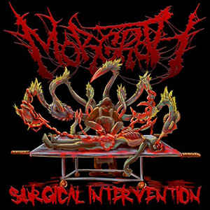 Morgroth ‎– Surgical Intervention CD