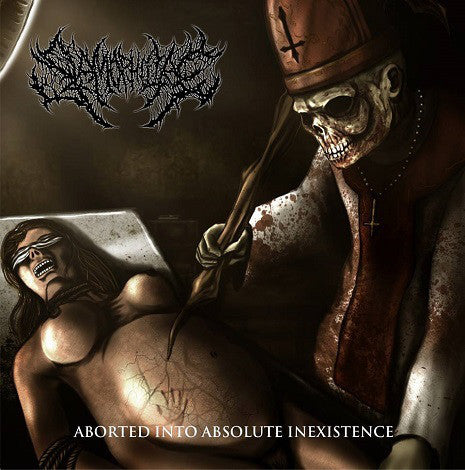 SLAMOPHILIAC | Aborted into Absolute Inexistence CD
