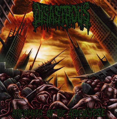 DISASTROUS- Aftermath Of The Apocalypse CD