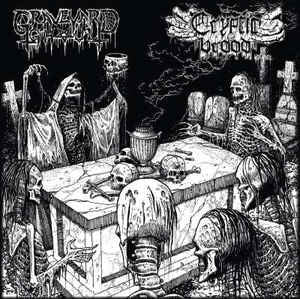 Graveyard Ghoul / Cryptic Brood ‎– The Graveyard Brood Split CD