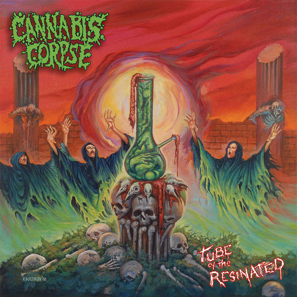 Cannabis Corpse ‎– Tube Of The Resinated CD