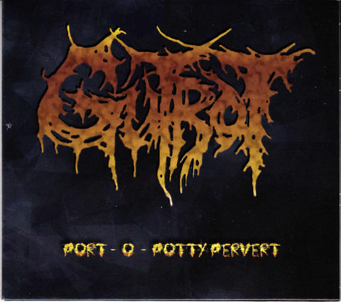 Gutrot / Syphilic ‎– Port - O - Potty Pervert SPLIT CD DIGIPACK