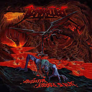 Bloodrocuted ‎– Disaster Strikes Back CD