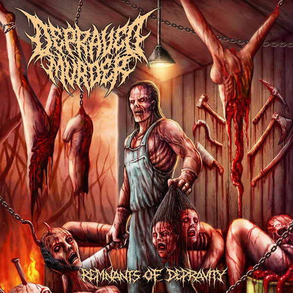 DEPRAVED MURDER │ Remnants Of Depravity CD
