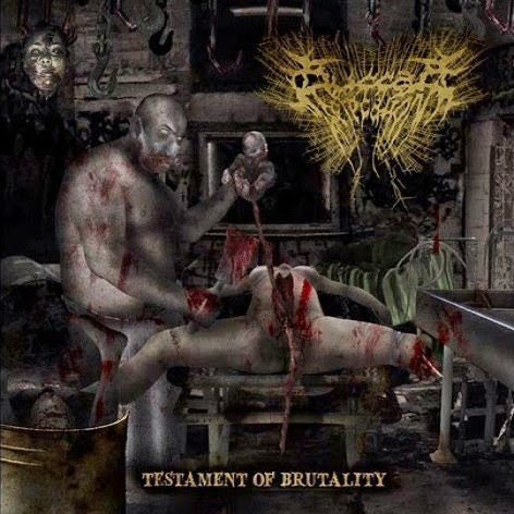 BUCCAL DEFECATION | Testament of Brutality CD
