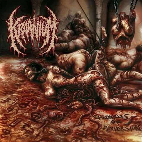KRAANIUM | Chronicles Of Perversion CD