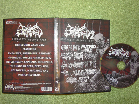 SEVARED RECORDS | Brutality Reigns Fest II DVD