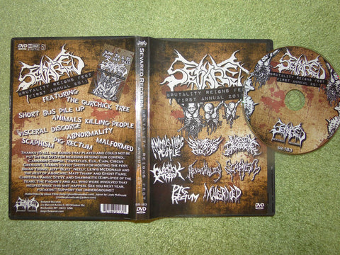 SEVARED RECORDS | Brutality Reigns Fest I DVD