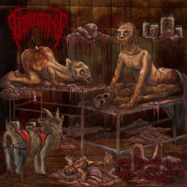 Hymenotomy ‎– Some Necrophiles Having Sex With Naked Autopsied Bodies In The Morgue CD