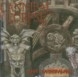 Cannibal Corpse ‎– Live Cannibalism CD