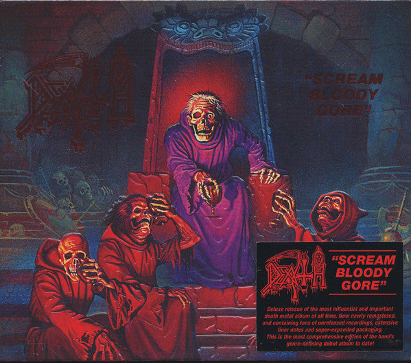 Death - Scream Bloody Gore 2CD Slipecase Special Edition