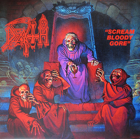 Death  ‎– Scream Bloody Gore LP Vinyl