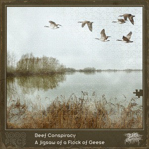BEEF CONSPIRACY | A Jigsaw of a Flock of Geese CD