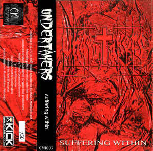 Undertakers ‎– Suffering Within CASSETTE