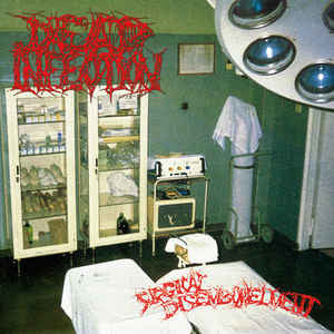Dead Infection ‎– Surgical Disembowelment DIGIPACK CD