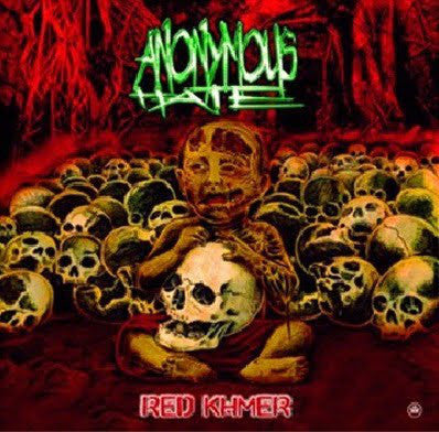 Anonymus Hate - Red Khmer  EP CD