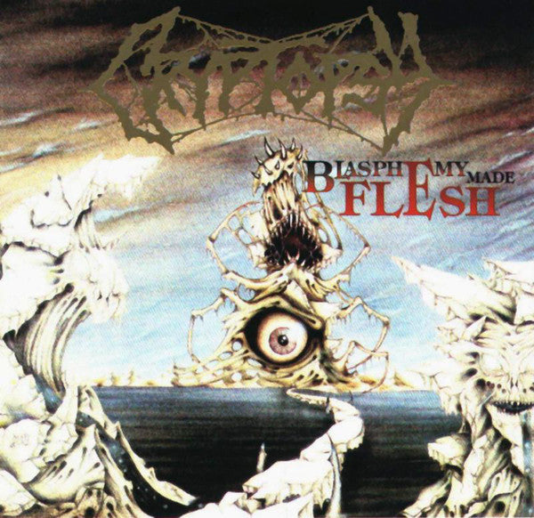 Cryptopsy ‎– Blasphemy Made Flesh LP VINYL CLEAR