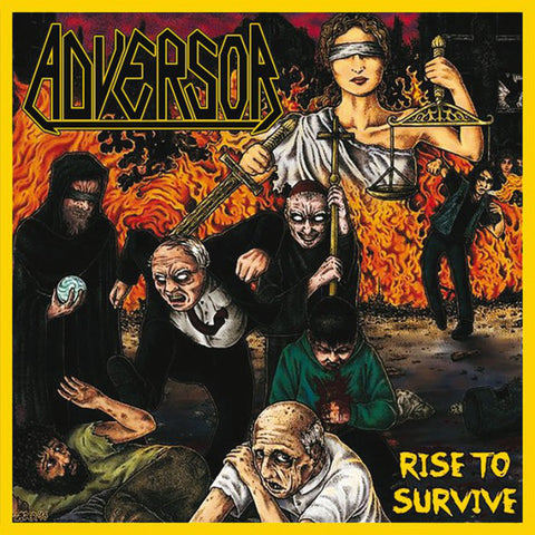 Adversor  ‎– Rise To Survive CD