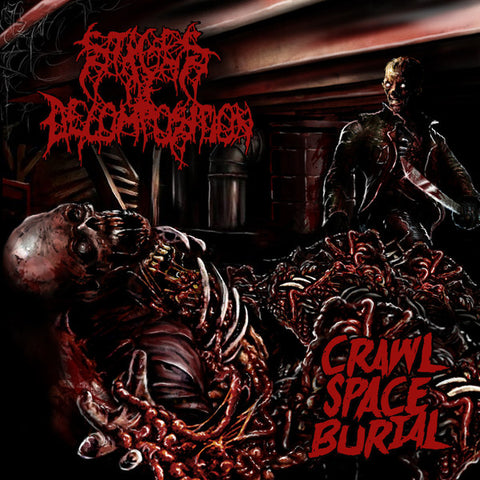 Stages Of Decomposition ‎– Crawl Space Burial  EP  DIGIPACK