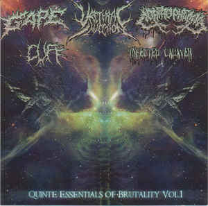 Quinte Essentials Of Brutality Vol.1 - 5 WAY SPLIT CD
