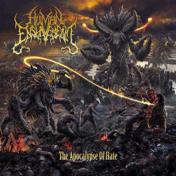 Human Enslavement ‎– The Apocalypse Of Hate CD