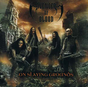 Avenger Of Blood ‎– On Slaying Grounds CD