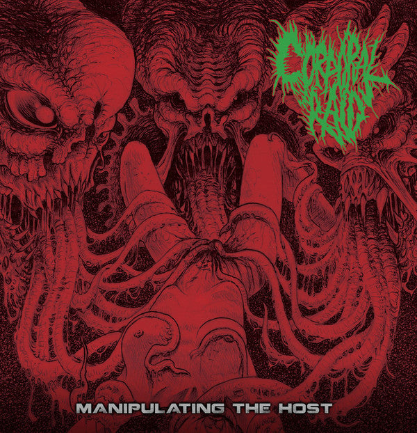 Corporal Raid ‎– Manipulating The Host CD