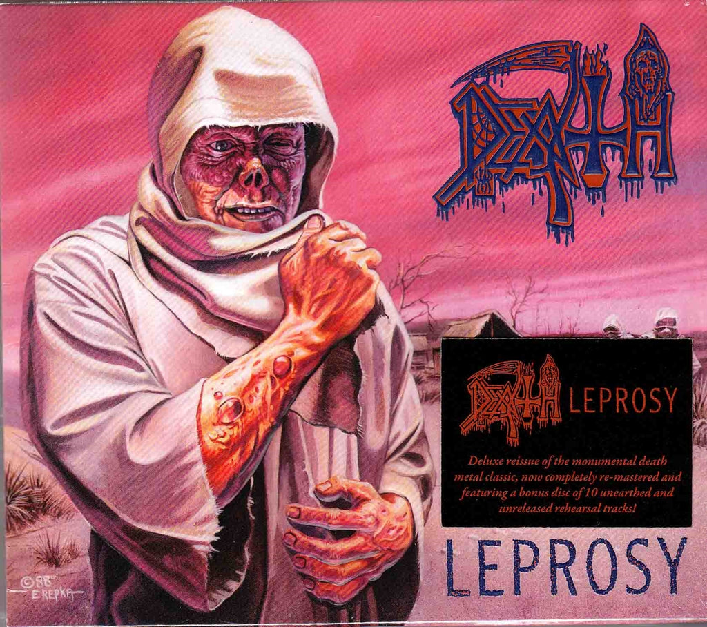 Death - Leprosy 2CD Limited Edition Slipcase