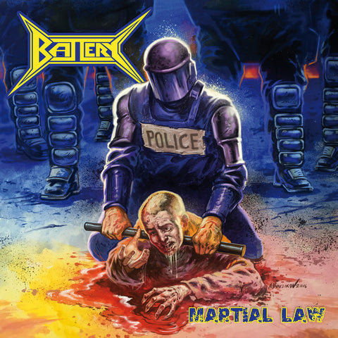 Battery  ‎– Martial Law CD