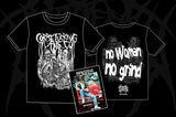 Corpse Fucking Art - No Woman No Grind TS + Beberly Hills DVD BUNDLE PACK