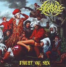ABRASIVE / EASTFRISIAN TERROR | Upstalsboom - Fruit Of Sin SPLIT 7' EP Yellow - VINYL