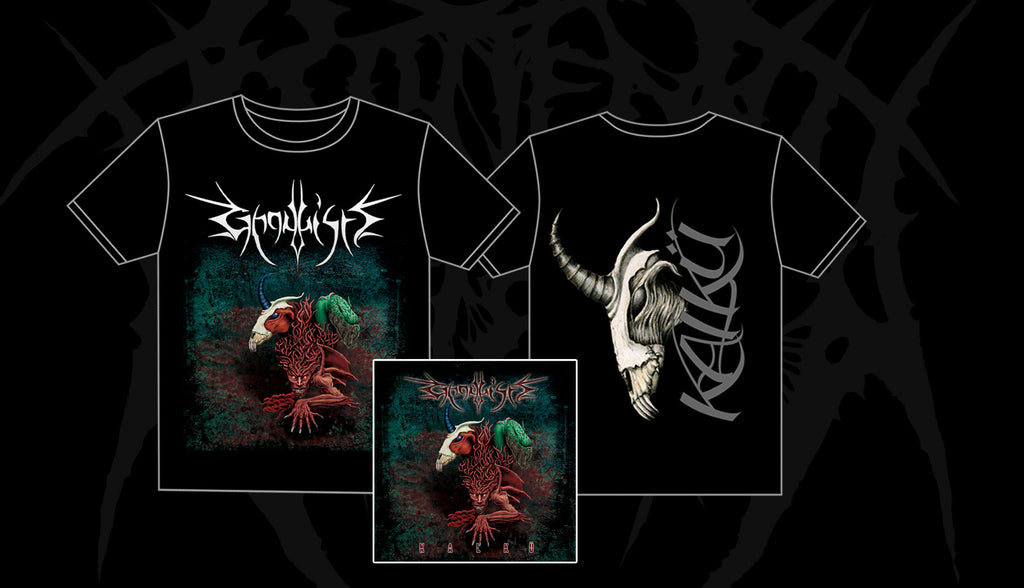 Ghoulish - Kalku  PACKAGE BUNDLE PACK CD + Tshirt