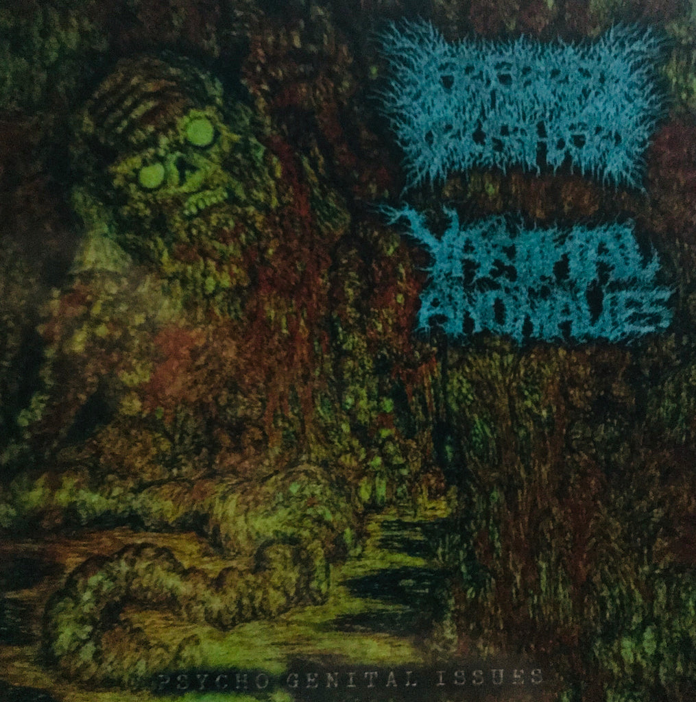 Cerebral Crusher / Vaginal Anomalies ‎– Psycho Genital Issues CD