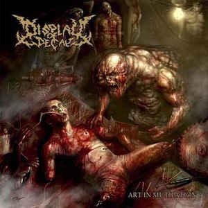 Display Of Decay ‎– Art In Mutilation CD
