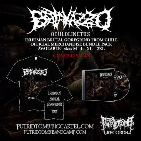 Batakazzo - Oculolinctus CD + Shirt Bundle Pack