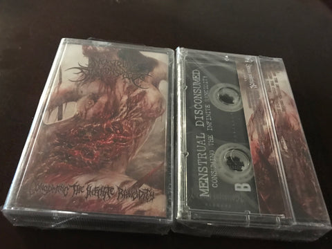 Menstrual Disconsumed ‎– Consuming the Infinite Rancidity CASSETTE