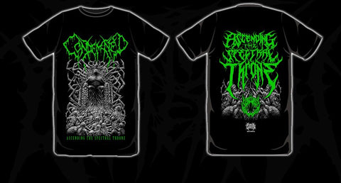 CONDEMNED Ascending The Spectral Throne Shirt TS Green